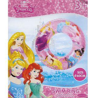 Mesuca Sports Disney Princess Pink 60cm Inflatable Swimming Ring Float