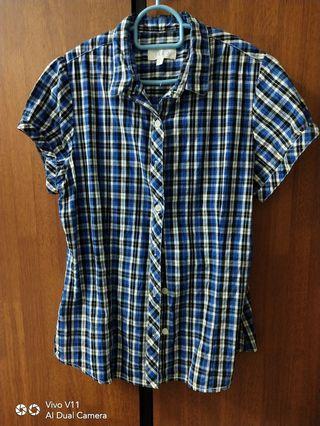 Checkered Shirt fitting