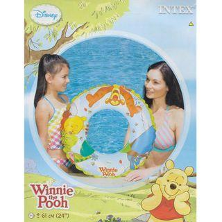 Intex Winnie the Pooh and Friends 60cm Inflatable Swimming Ring Float