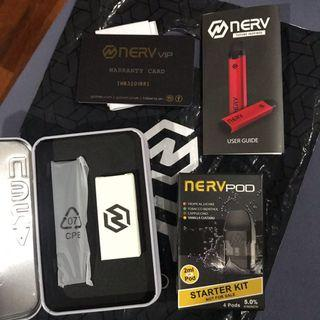 Nerv Pod - Full Set with Cartridge(COD Available)