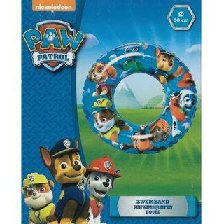 Nickelodeon Paw Patrol 50cm Inflatable Swimming Ring Float