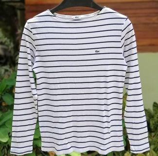 Lacoste stripes tops