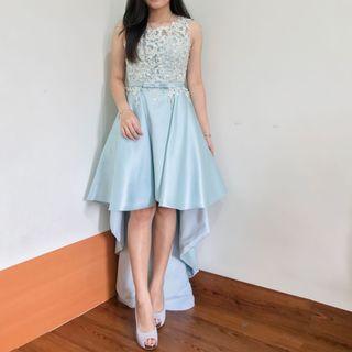 Babyblue Long Party Dress - Gaun Pesta / Sweet Seventeen