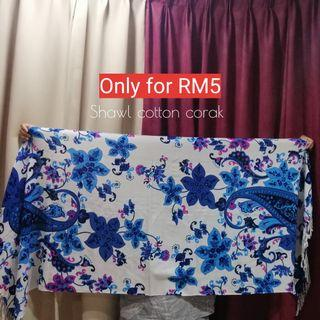 SHAWL COTTON