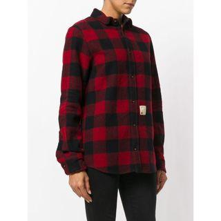 DSQUARED2 plaid shirt jacket 黑紅格仔 恤衫 外套