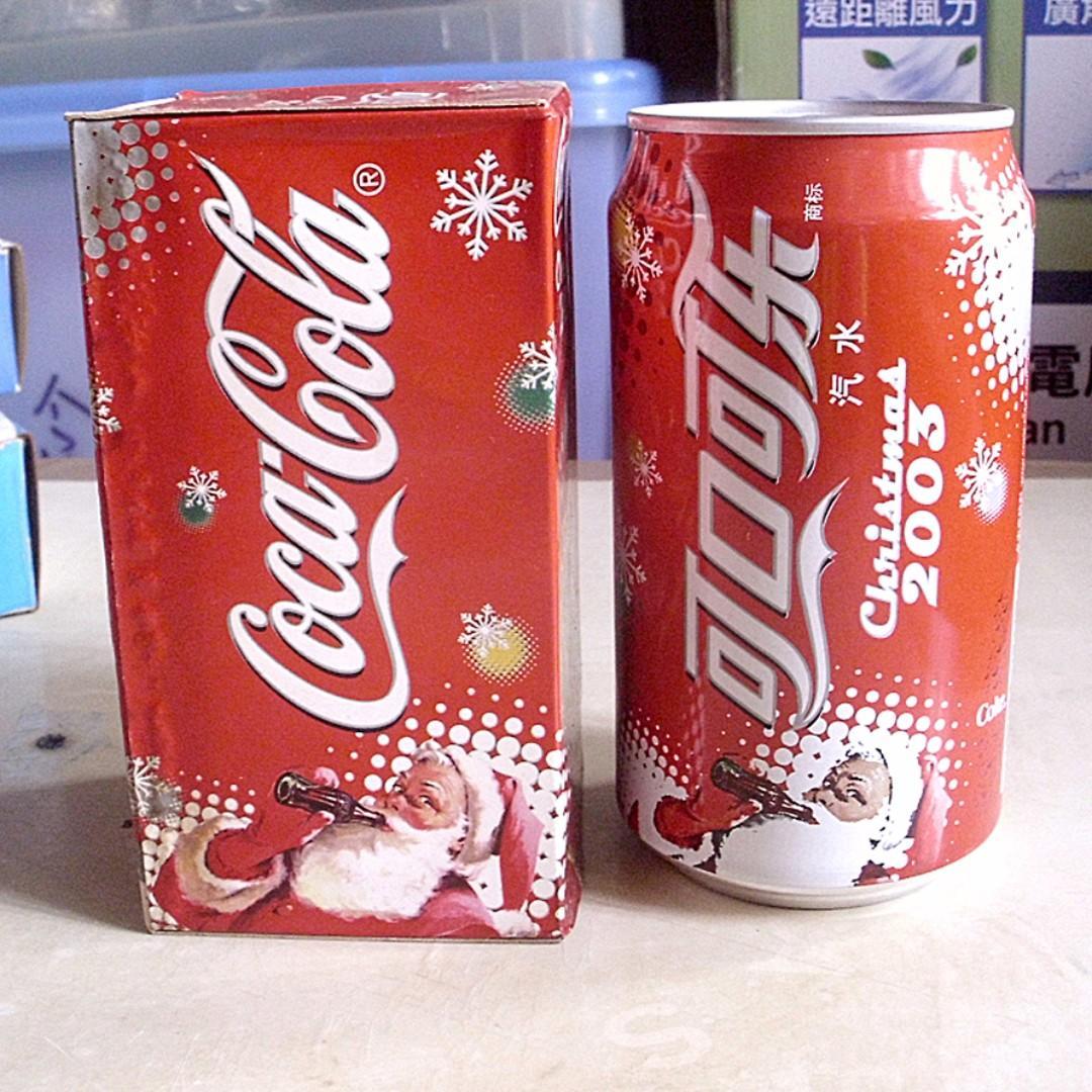 03年大陸可口可樂聖誕紀念罐一個