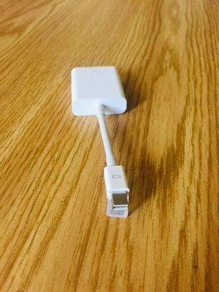 Authenticate Apple Mini DisplayPort to VGA Adapter