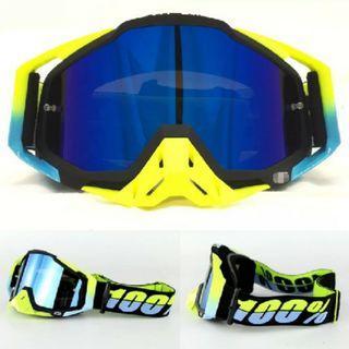 {梅杜莎}100%百分之百滑胎越野風鏡護目鏡高級套裝