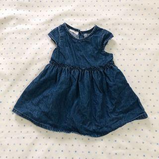 NEXT baby denim dress