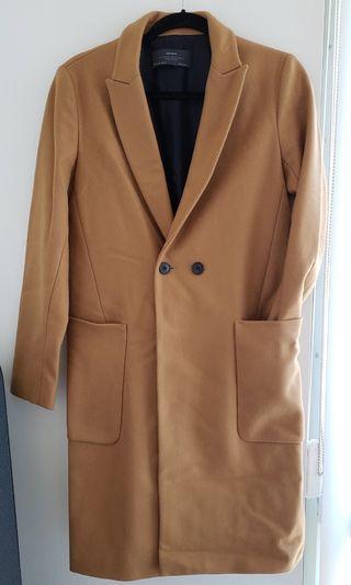 ZARA Basic Wool Coat