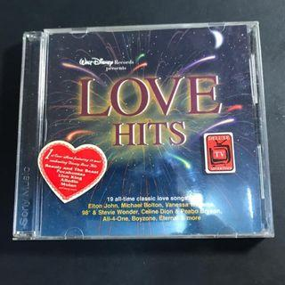 CD original LOVE HITS