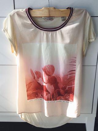 Scotch & Soda Silk Graphic T-shirt