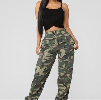 Fashion nova camp pants