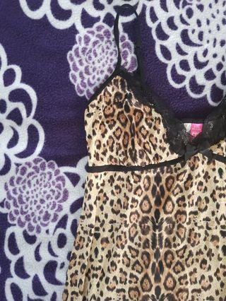 ☆ Leopard Print Lingerie Dress ☆