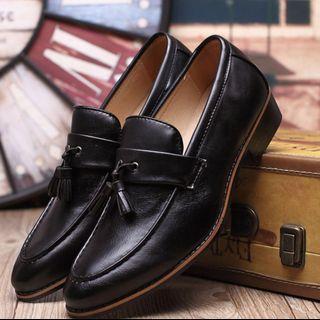 Black Tassel Loafer size 41