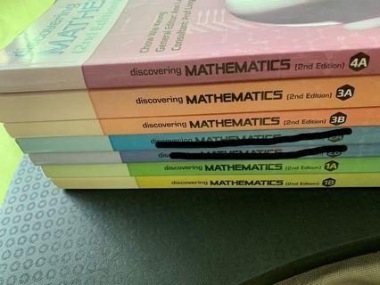 Discovering Mathematics 1A/B,3A/B,4A