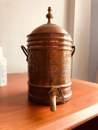 Bronze water dispenser from Morrocco
