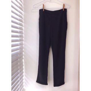 🚚 涼感舒適X顯瘦黑 休閒哈倫褲 #半價衣服拍賣會