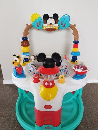 Mickey Mouse exerciser.