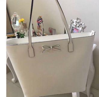Preloved Katespade Bag White
