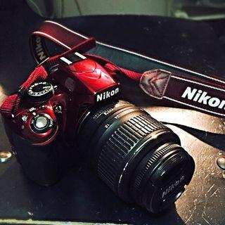 Nikon D3200 Red Edition