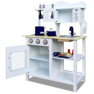 Wooden pretend play kitchen toy