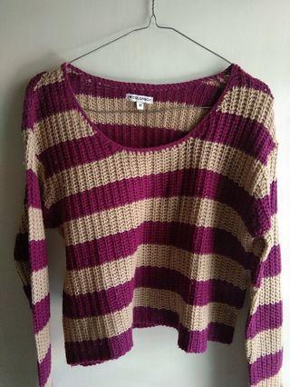 Colorbox Crop Knitwear