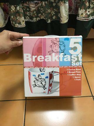 🚚 早餐餐具套裝組