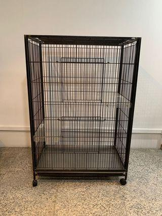 Cage for cat or chinchilla