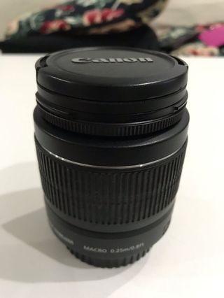 🚚 Canon Lens 18-55mm