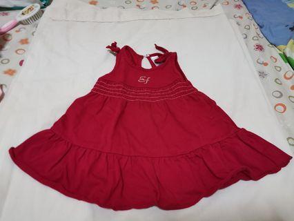 Enfant Red dress