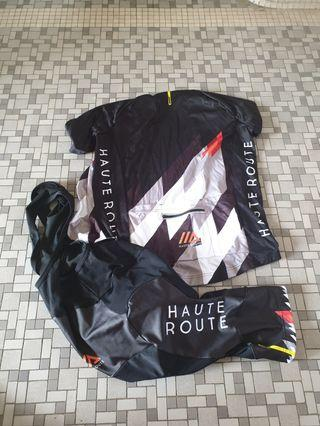 Mavic Haute Route Ltd Edition Cycling Kit Size M