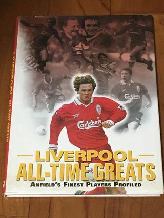 Liverpool all time greats 利物浦球星簡介 書
