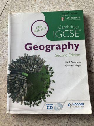 Igcse geography book $25