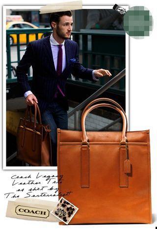 Coach Legacy Leather Executive Bag