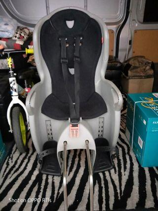Hamax frame mounted child bicycle seat.