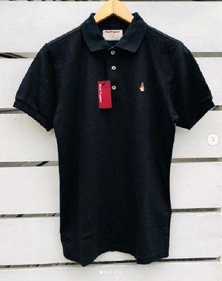 Hush Puppies Polo shirt - black