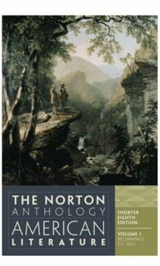 🚚 The Norton Anthology of American Literature 美國史第八版