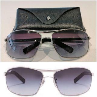 mens unisex RAY-BAN ray bans Aviator sunglasses SUNNIES silver