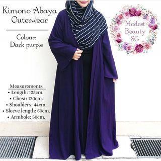 Instock Kimono Abaya Outerwear