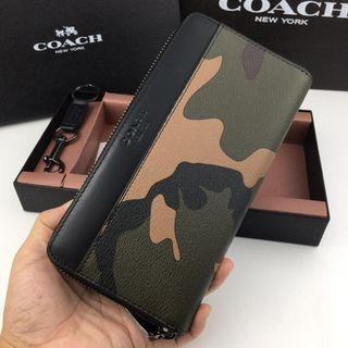 Coach army wallet