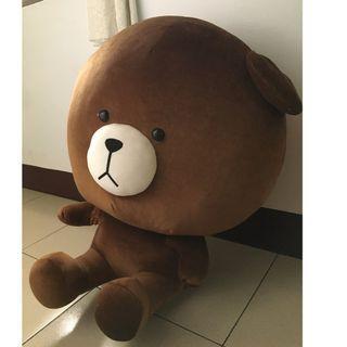 熊大  大型可愛娃娃