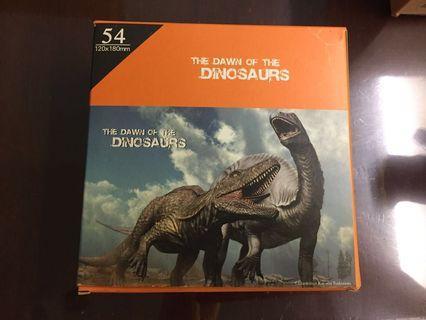 🚚 恐龍拼圖54片-小的