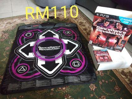 PS3 Dance mat and games