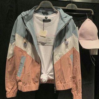3tone Jacket Bershka