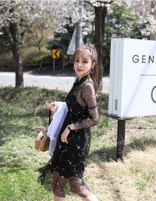 韓國刺繡紗裙 #MTRcentral
