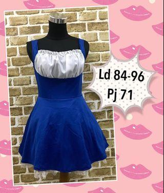 Lolita blue dress / kostum lolita