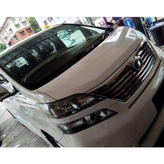 MPV car travel service - TOYOTA ALPHARD and VELLFIRE for Rental & travel service