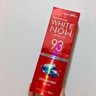 韓國93%美白牙膏