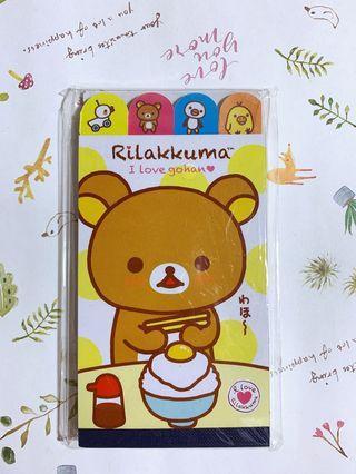 🚚 [全新]拉拉熊-四格造型便條紙